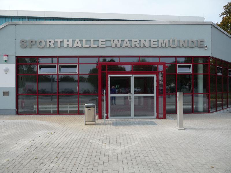 Sporthalle Warnemünde