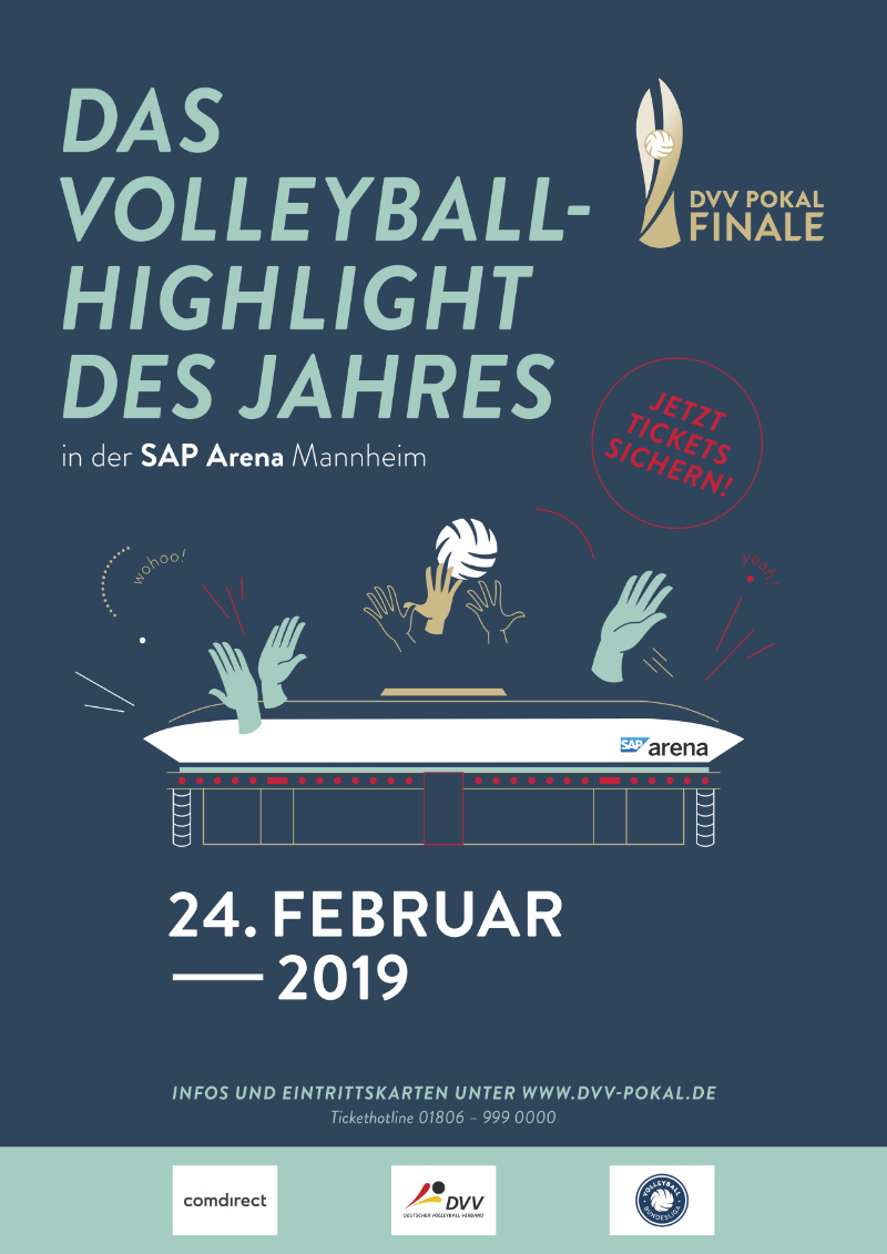 Pokalfinale Volleyball